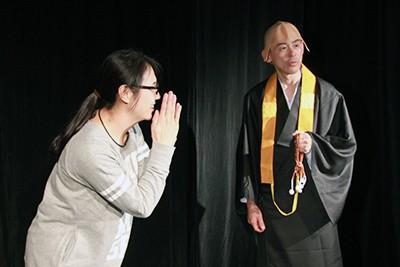 """劇団""""奇想天外""""現代版落語劇 寿限無"""
